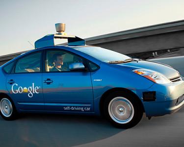 Google Car. Foto: Google