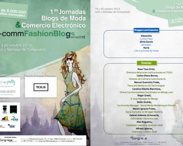 I Jornada de Blogs de Moda y Comercio Electrónico