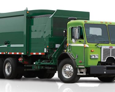 Camión de basura hidráulico