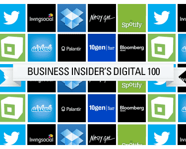Business Insider´s Digital 100