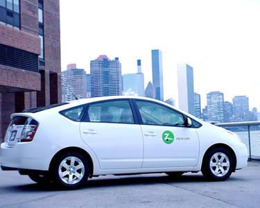 Un Prius de Zipcar
