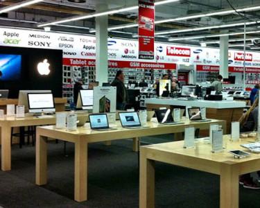 Los comparadores de precios se utilizan a menudo en tiendas como las de electrónica e informática