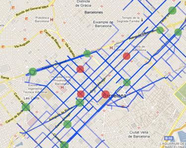 Un sistema para mejorar la circulación de vehículos desarrollado Barcelona