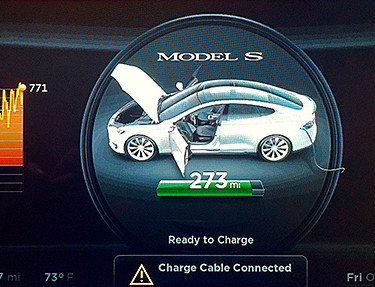 Foto: Tesla Series S - Dashboard (CC) Wesley Fryer @ Flickr