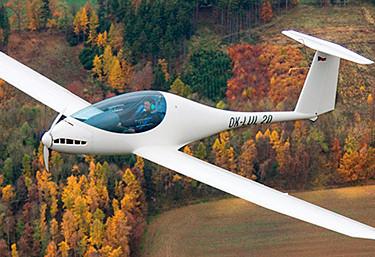 Avión eléctrico E-Viva