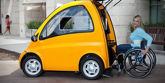 Un coche el ctrico para llegar m s lejos en silla de ruedas te lo env o por seur - Tamano silla de ruedas ...