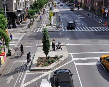 Carriles bici en Nueva York