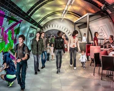Túneles subterráneos de Londres / Gensler