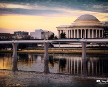 Hyperloop Washington (PRNewsFoto/Hyperloop Transportation Tech.)
