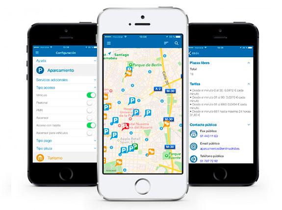 Parking Madrid: por fin una «app oficial» para millones de conductores de la ciudad