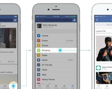facebook shopping en pruebas