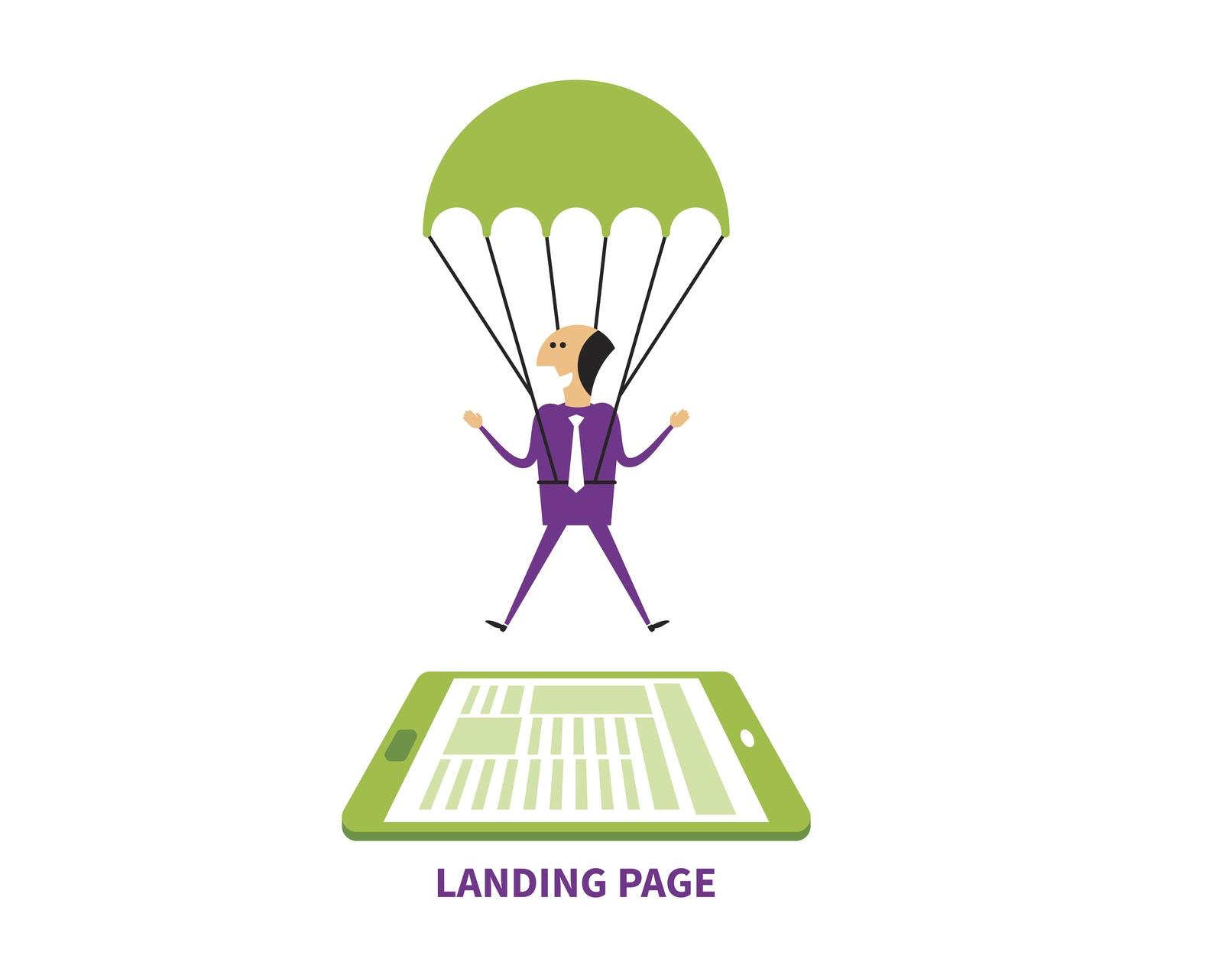 Las 5 características principales de una «landing page»