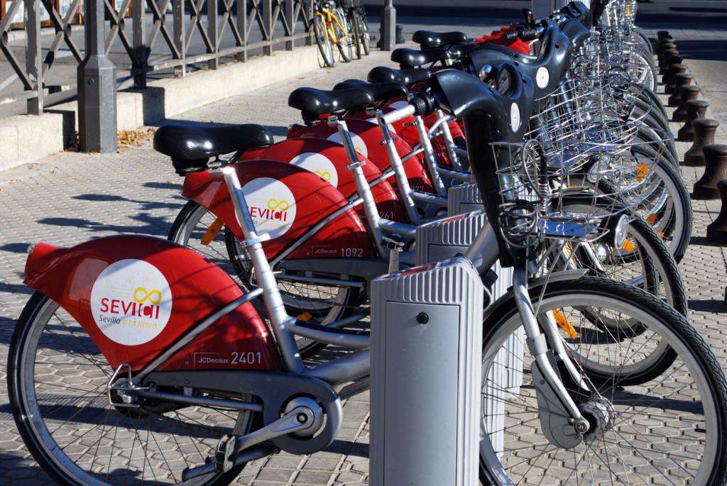 Bicicletas públicas Sevilla