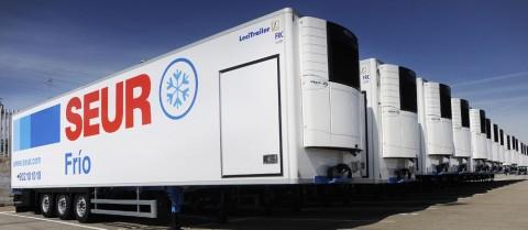 Camiones de SEUR Frío para el transporte de alimentos