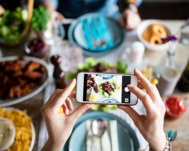 alimentación, redes sociales y ecommerce