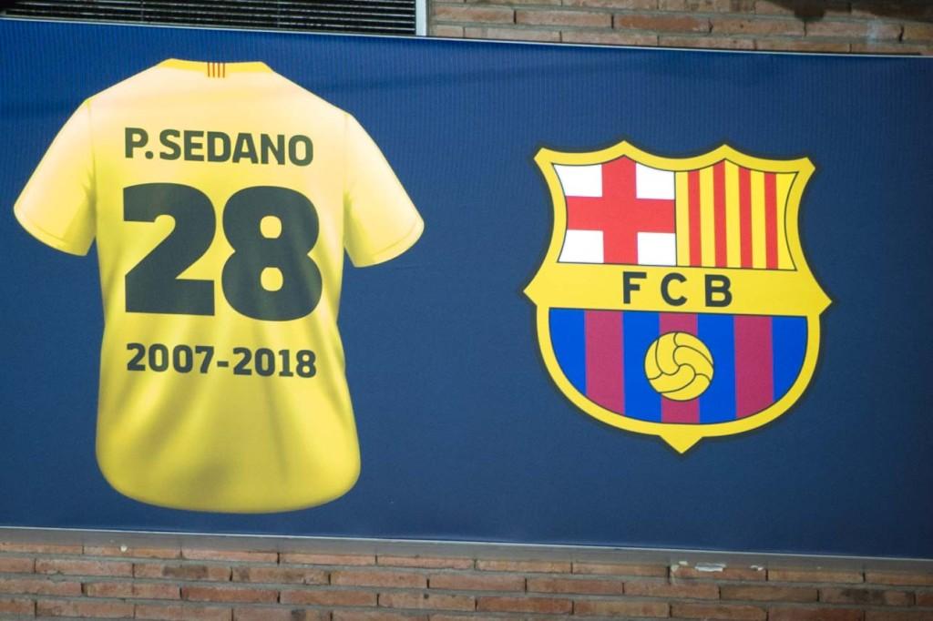 Camiseta de Paco Sedano en el Palau
