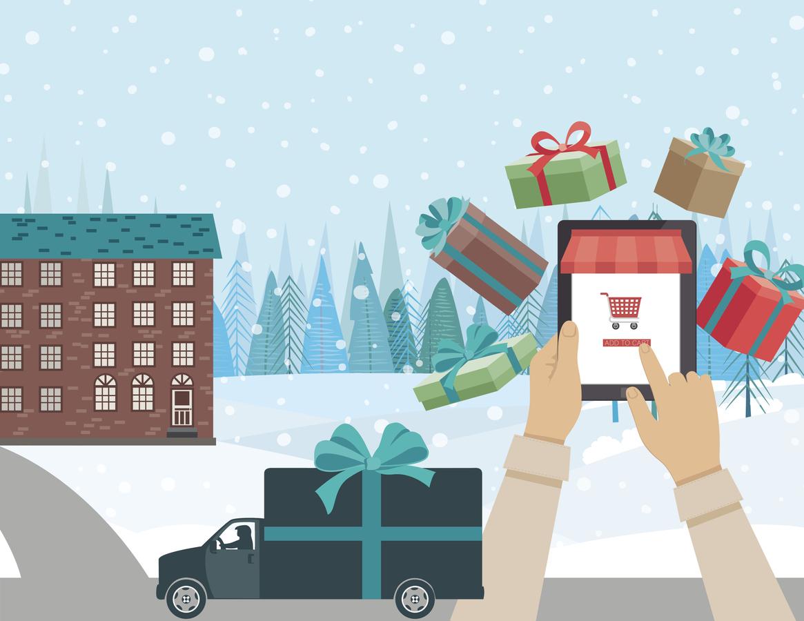 Resultado de imagen de Compra online navidad