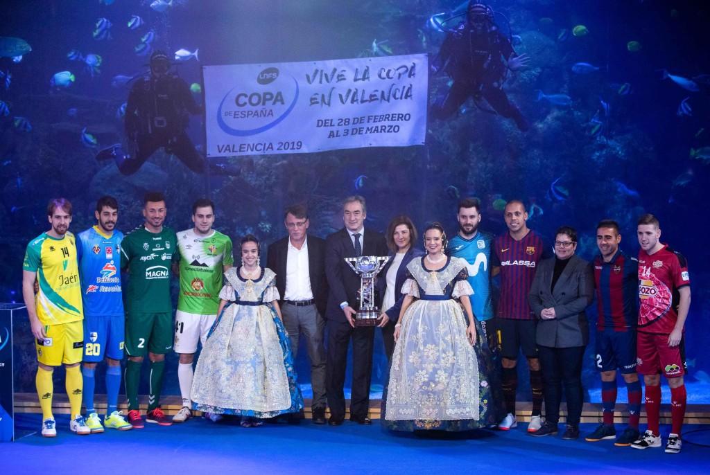 Presentación de la Copa en Valencia