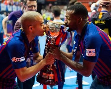 El Barça Lassa celebra la Copa | LNFS