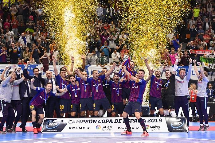 El Barça Lassa celebra la Copa