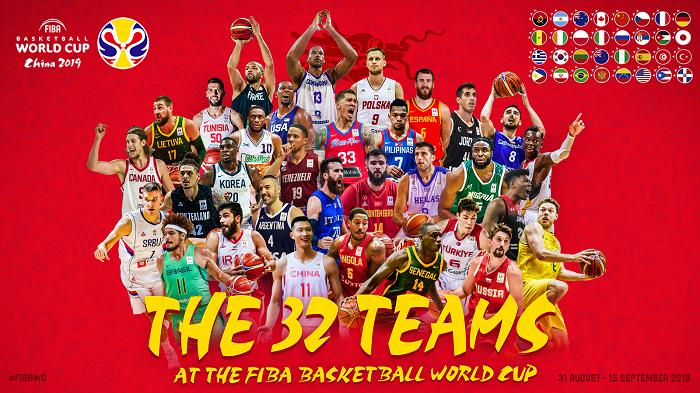 Equipos clasificados Mundial China