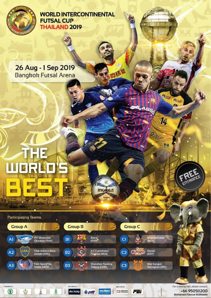 Cartel Mundial Tailandia