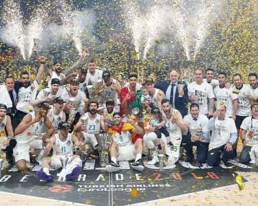 Celebración Real Madrid.