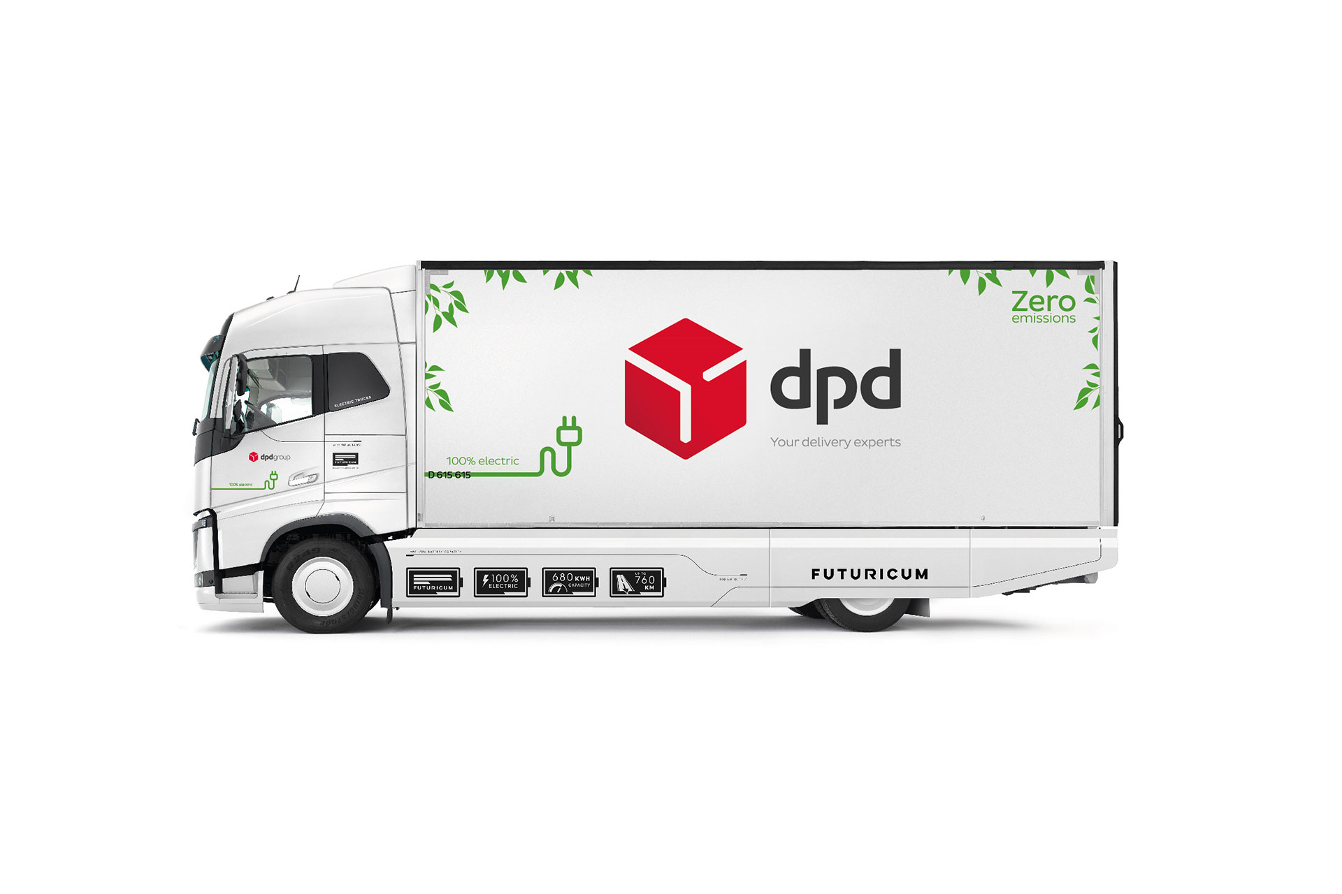 camion electrico DPD suiza